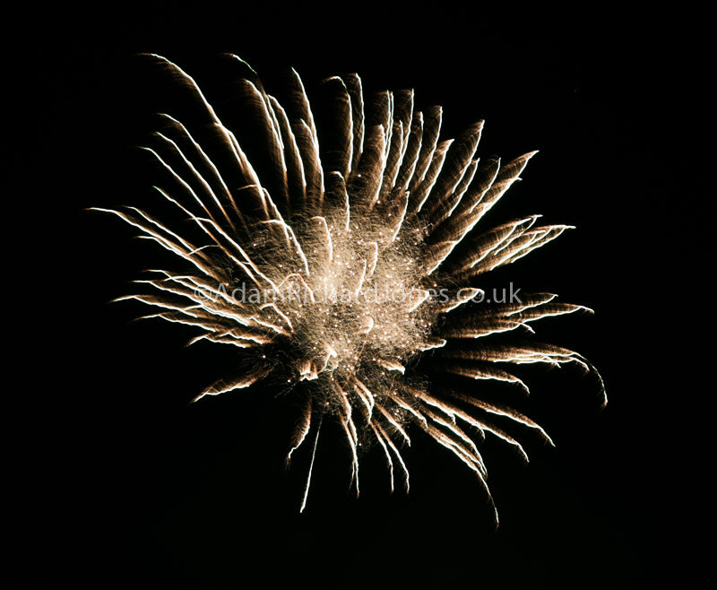 Firework photography Worcestershire