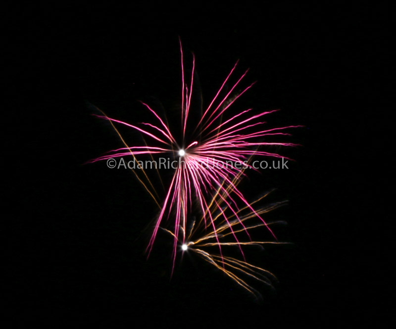 Firework Display Worcestershire Photographer