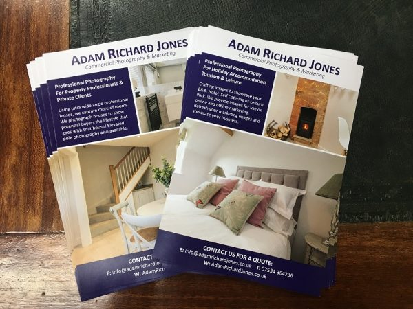 Flyers and leaflets printed