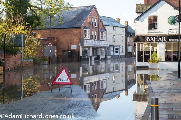Tenbury Wells Worcestershire Floods