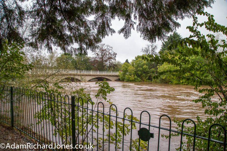 Tenbury Wells Worcestershire Flooding – October 2019