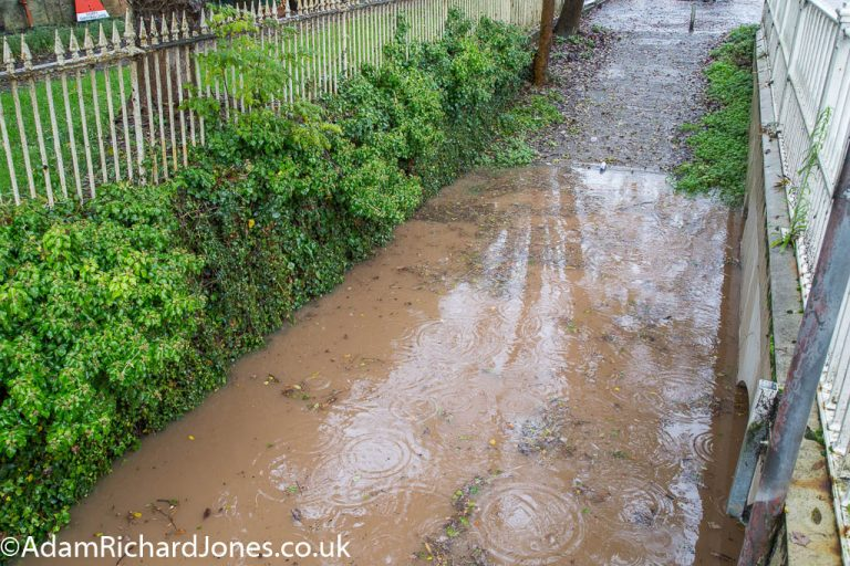 Tenbury Wells Worcestershire Flooding – October 2019