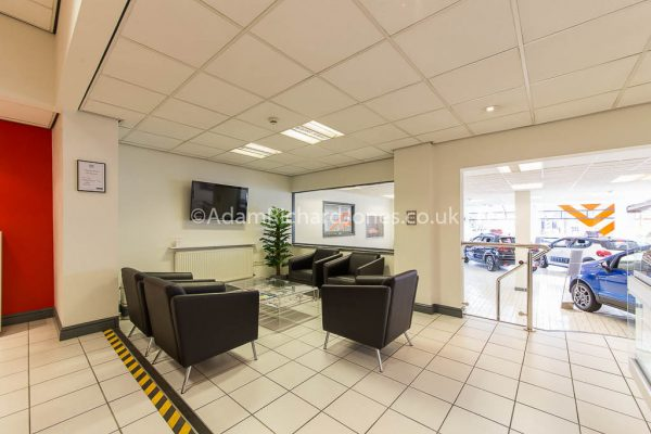 Car Dealership Showroom Photography Worcestershire